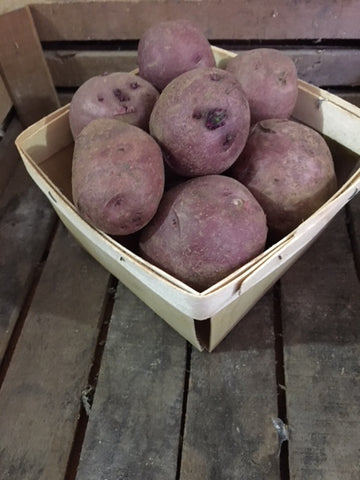 Red Potato quart seconds