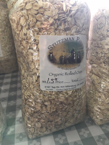 Organic Sprouted Rolled Oats 1.5#