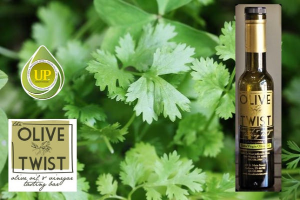 Cilantro & Roasted Onion Olive Oil 200 mL bottle