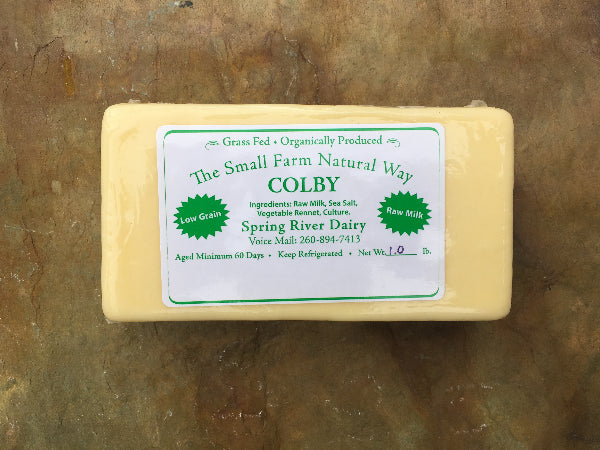 Colby Cheese - 1 lb. package