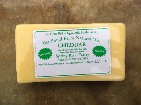 Cheddar Cheese - 1 lb. package