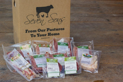 Best of Farm Box + 2 FREE Bacon Burgers | 8lb