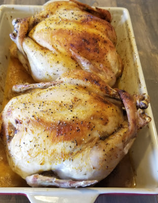 Whole Chicken 4.6-5.5 lbs. Pasture Raised, Non-GMOś, No Hormones or Antibiotics.