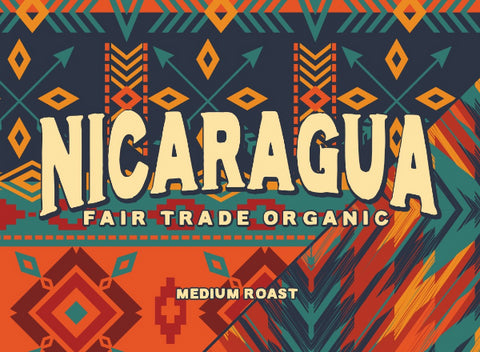 Nicaragua Fair Trade Organic Segovia - Medium Roast - 8 oz - Whole Bean