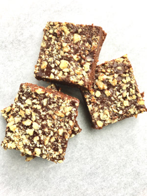 BROWNIES - 100% Plant Based, Gluten Free, Soy Free , Sweetened with Dates.