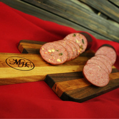All Beef with Garlic Summer Sausage
