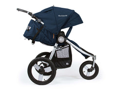 Bumbleride Speed Jogging Stroller Maritime Blue Profile View