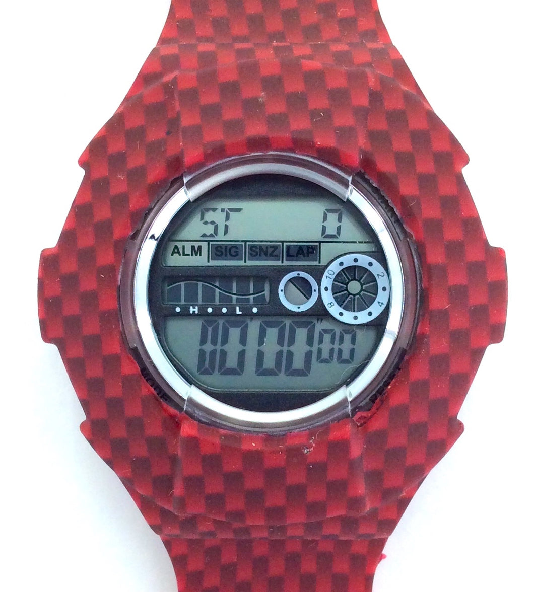 NEW RELEASE!- Red Carbon Fiber