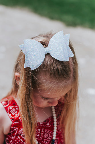 Frost Dazzle Dolly Bow