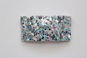 Rainbow Fish Glitter Snap Clip