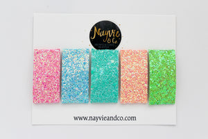 Shimmers Snap Clip Set