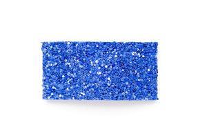 Blue Blood Glitter Snap Clip