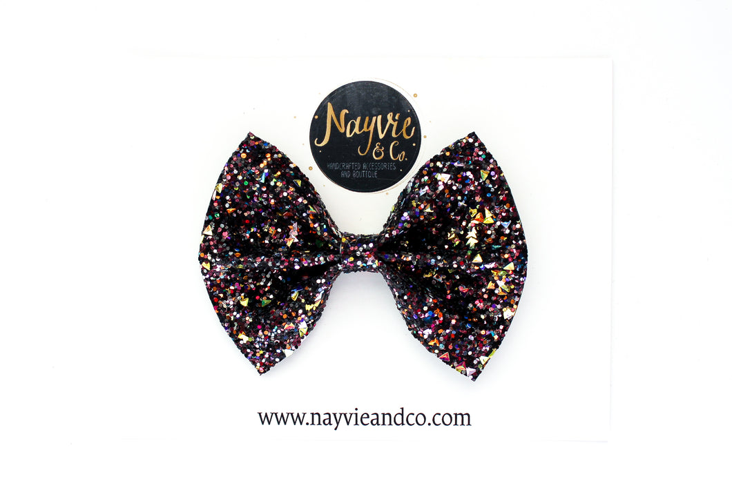 Witches Brew Glitter Bow