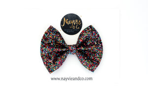 Candy Crush Glitter Bow