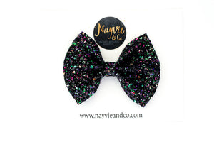 Trick ot Treat Glitter Bow