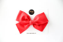 Cayenne Red Hand-tied Bow