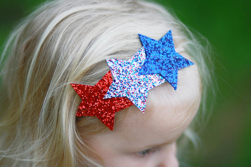 Modern 4th of July Star Crown