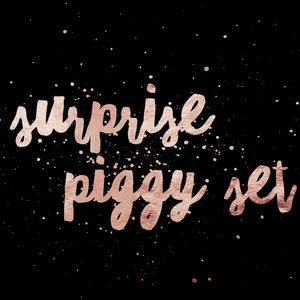 SURPRISE PIGGY SET