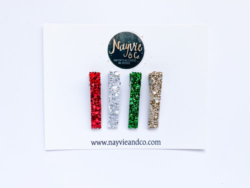Christmas Snap OR Bar Clip Set