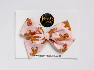 Gingerbread Girls Hand-tied Bow