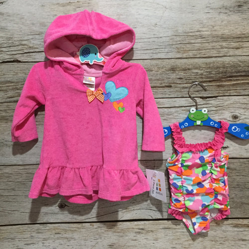 Swimsuit & Cover- NWT