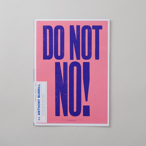 Posterzine™ Issue 04 | Anthony Burrill