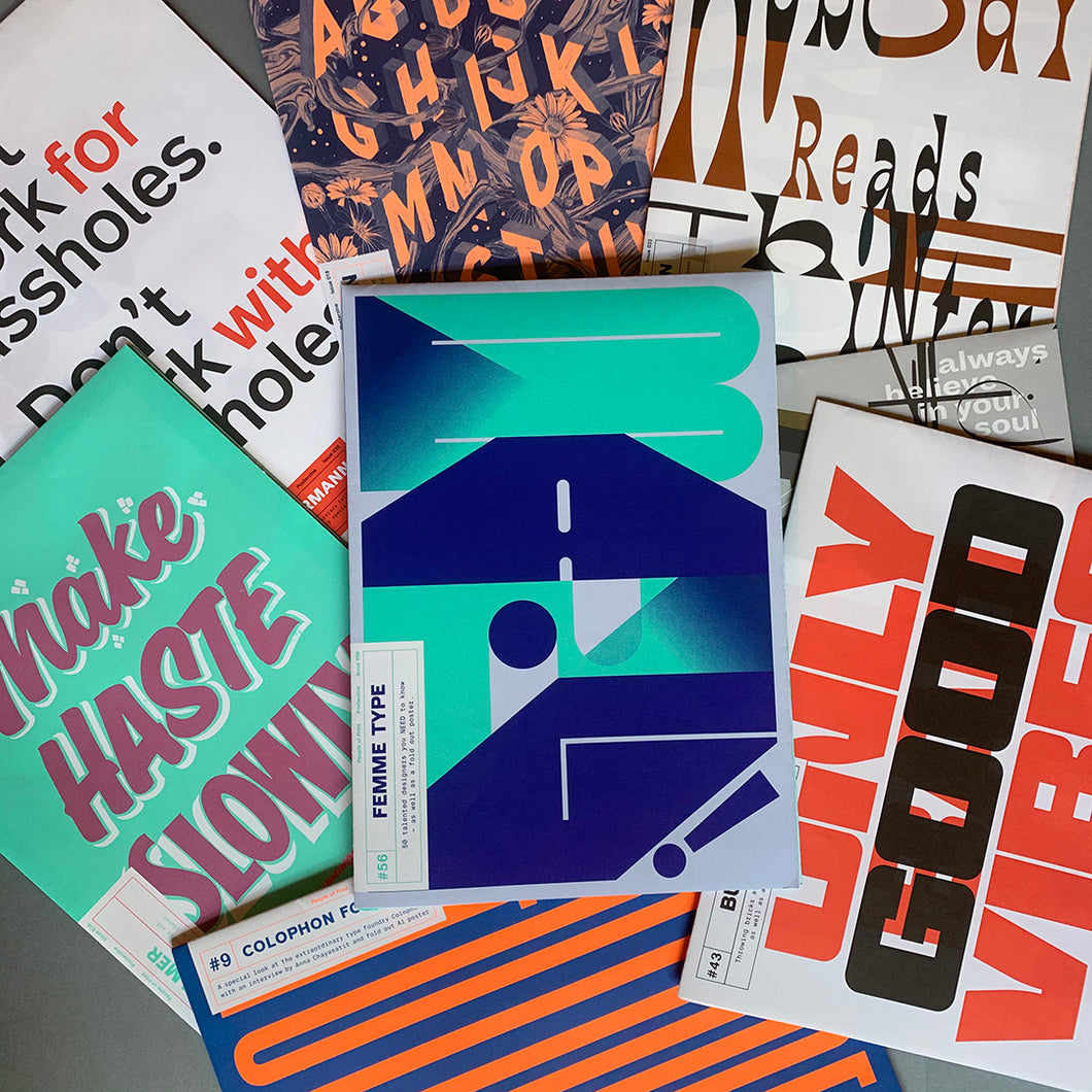 Posterzine™ Typography Bundle