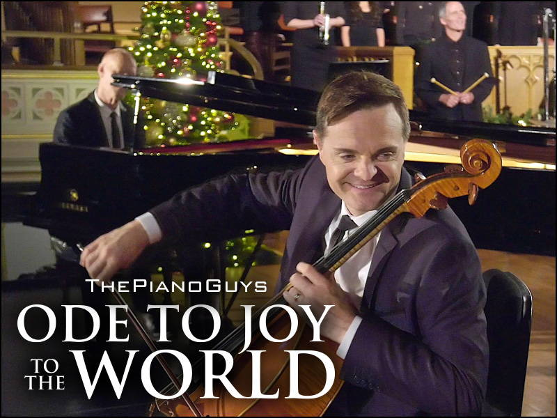 Ode to Joy to the World (with Choir & Bell Ringers) - The Piano Guys