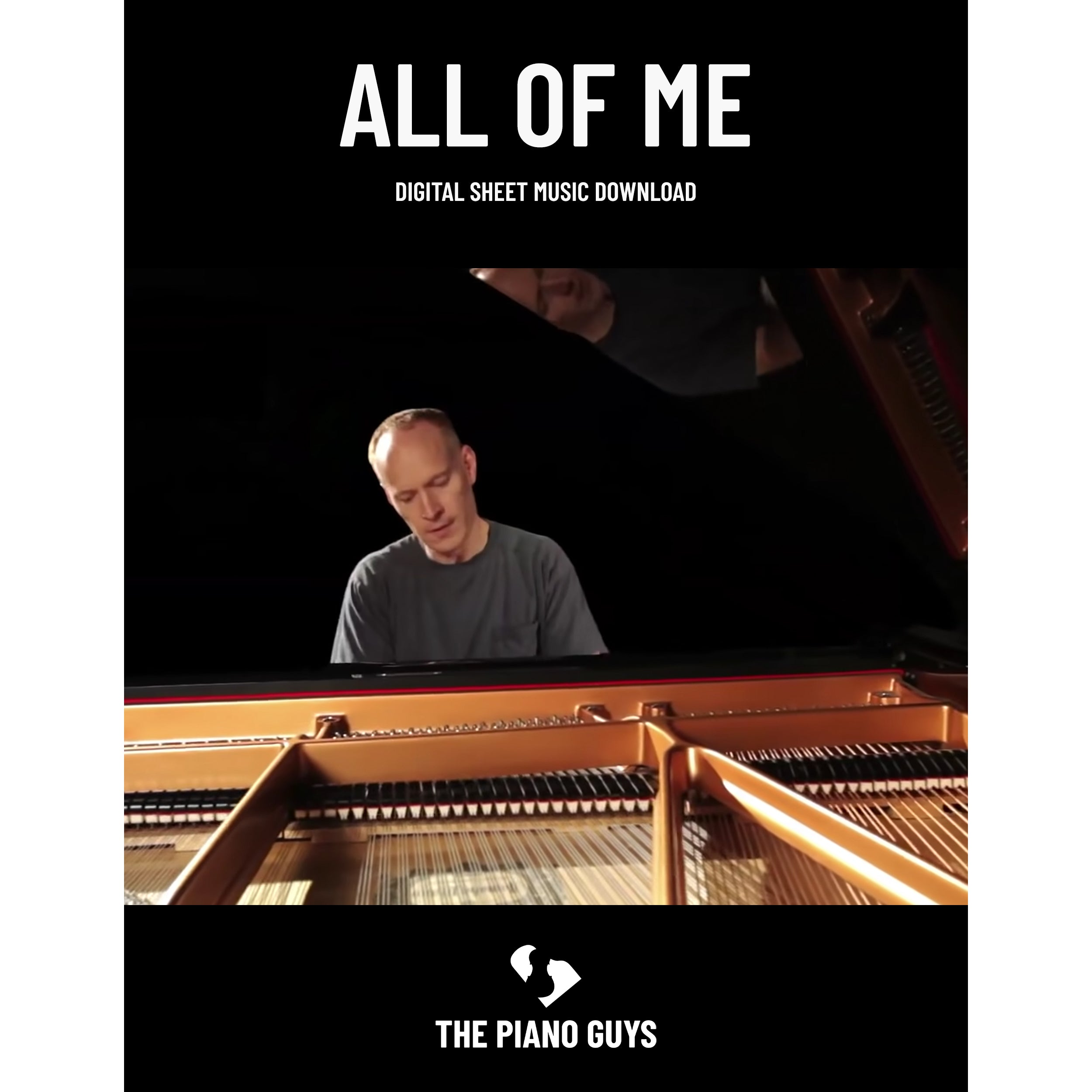 All Of Me Piano Sheet Music all of me sheet music digital download (pdf) – the piano guys