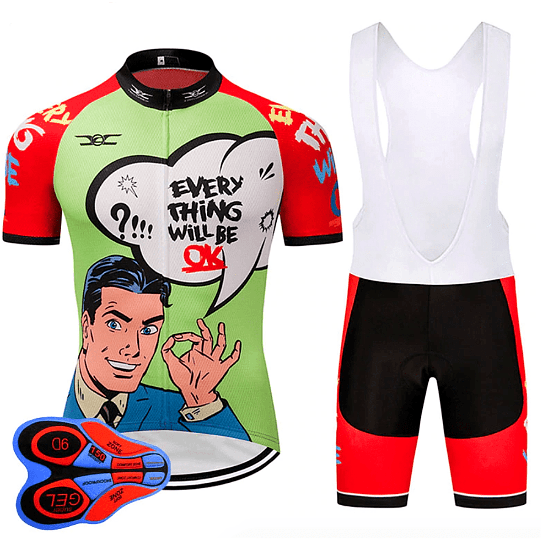 """Ok"" Cycling Set"