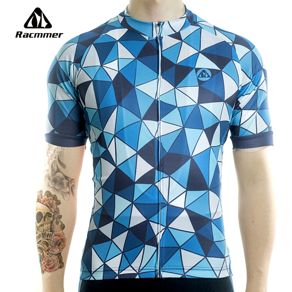 "Mens ""Sharp Blue"" Cycling Jersey"