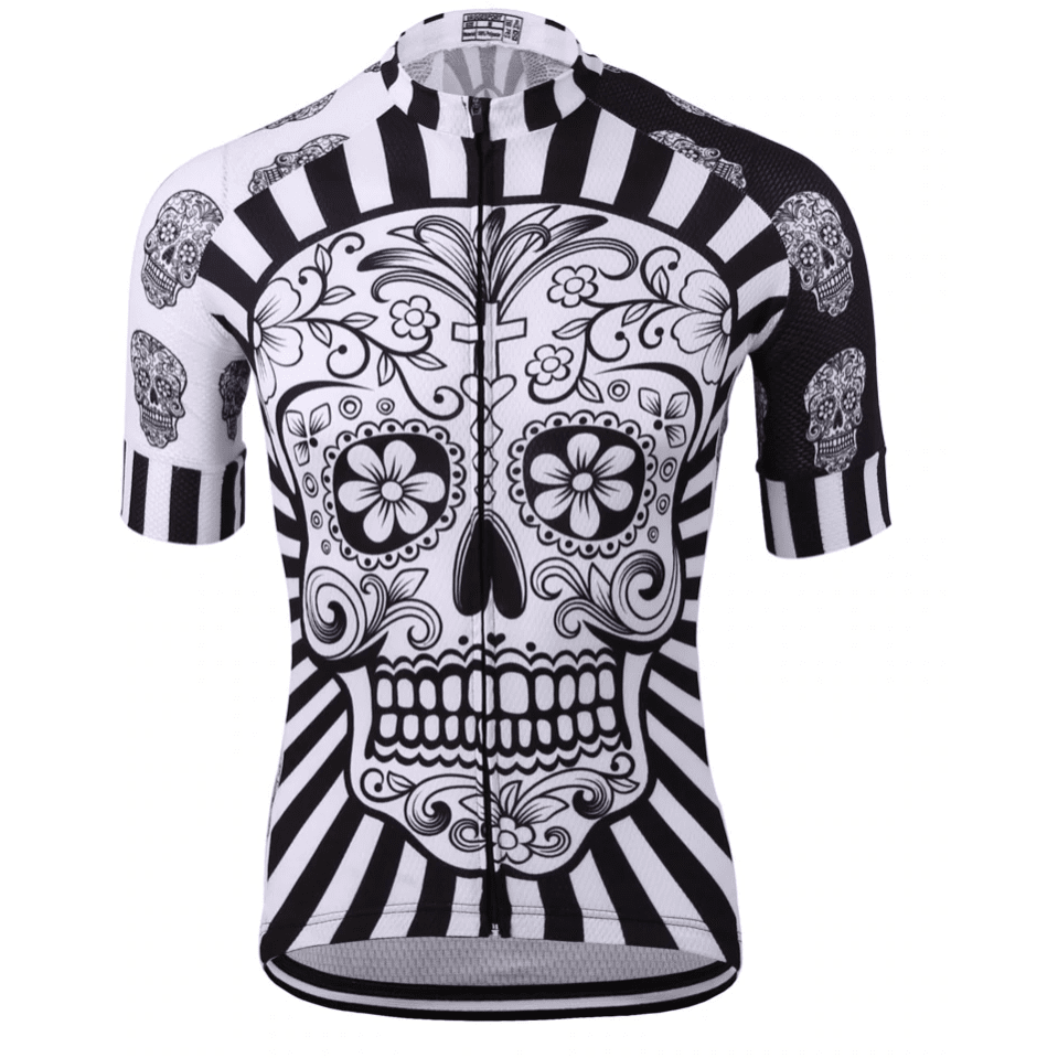 Flashy Skull Cycling Jersey