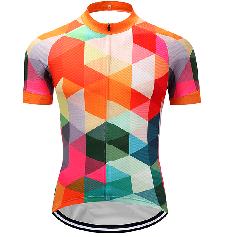Rainbow Mirror Cycling Jersey