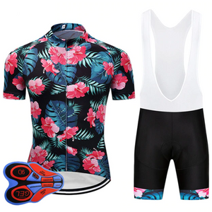 Floral Cycling Set