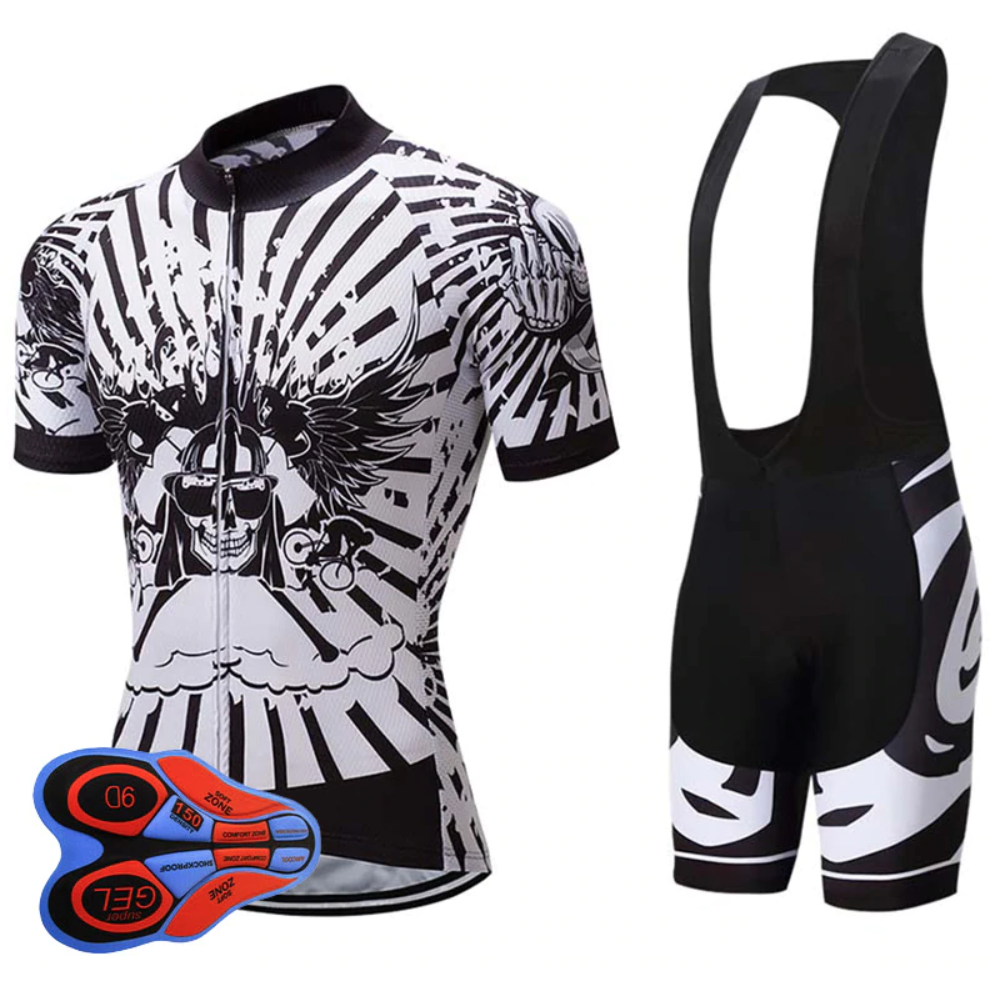 Skull Cycling Set