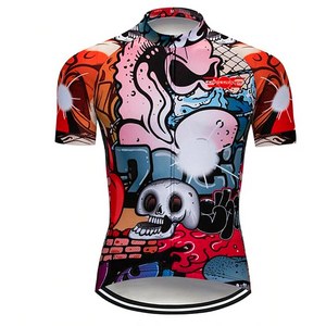 Graffiti Cycling Jersey