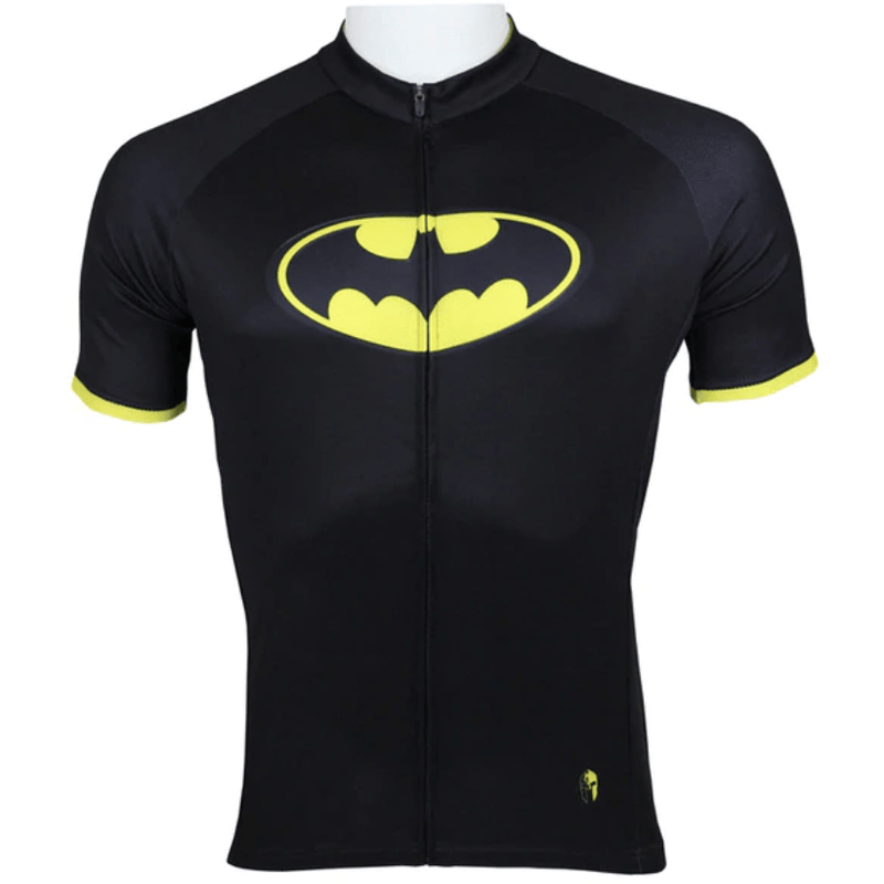 "Men ""Batman"" Cycling Jersey (3rd version)"