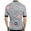 "Bike Jersey's Racmmer Short Sleeve ""Magic Swirls"" Jersey"