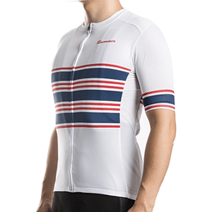"Bike Jersey's S Racmmer Short Sleeve ""Blue Ribbon"" Jersey"