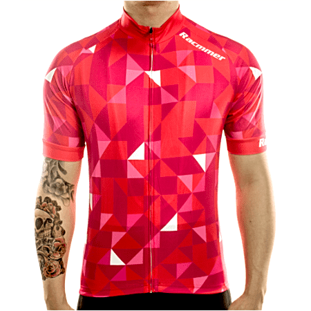 "Mens Short Sleeve ""Red Trifecta"" Jersey"