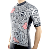 "Bike Jersey's S Racmmer Short Sleeve ""Magic Swirls"" Jersey"