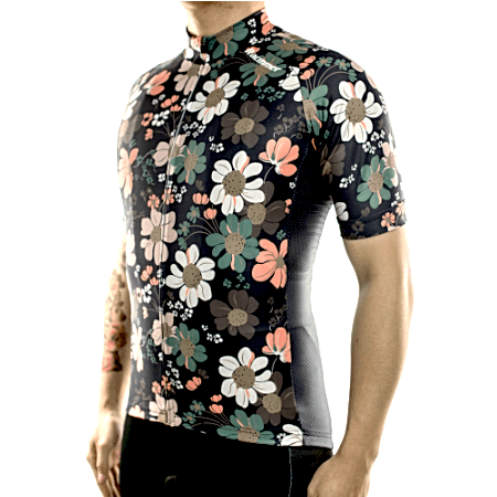 "Bike Jersey's S Racmmer Short Sleeve ""Manly"" Jersey"