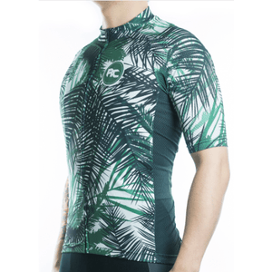 "Bike Jersey's S Racmmer Short Sleeve ""Tropic Tree"" Jersey"