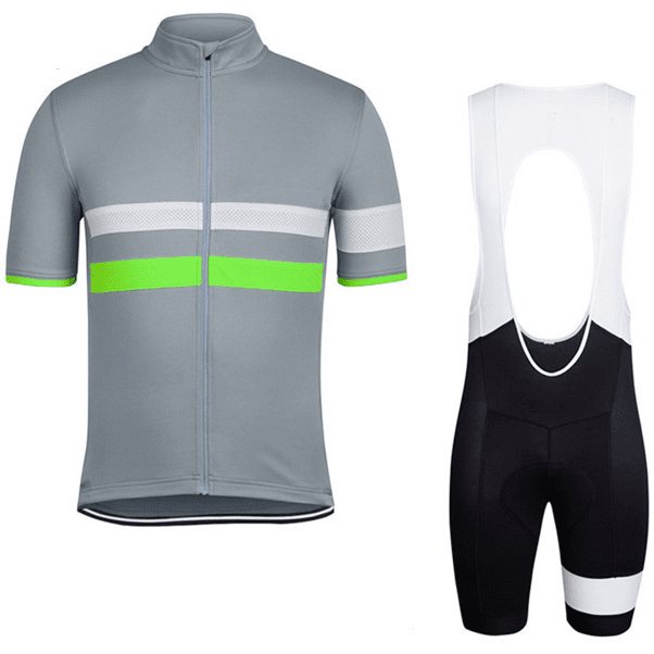"Mens ""Double Stripe"" Cycling Set"