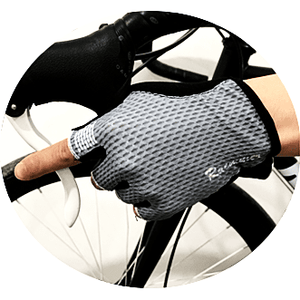 Parc Cycling Jerseys L - One Size / Gray Unisex Cycling Gloves