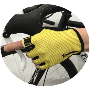 Parc Cycling Jerseys L - One Size / Yellow Unisex Cycling Gloves
