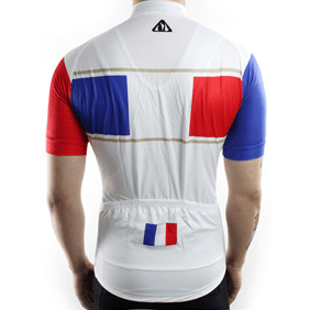 "Parc Cycling Jerseys Mens ""Team France"" Jersey"