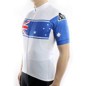 "Parc Cycling Jerseys Mens ""Team New Zealand"" Jersey"
