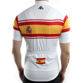 "Parc Cycling Jerseys Mens ""Team Spain"" Jersey"