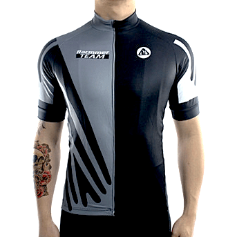 Parc Cycling Jerseys S / Grey Mens